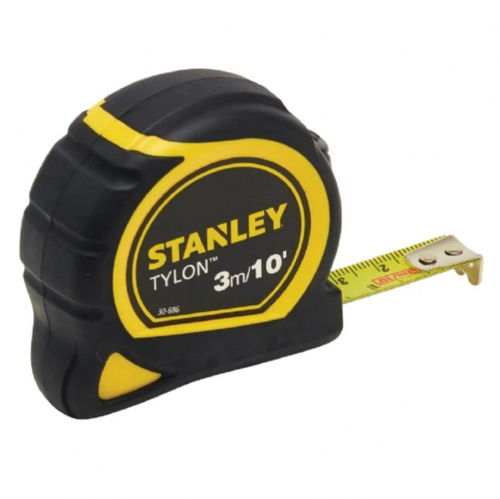 Stanley 130686 Tylon™ Pocket Tape Measure 3m/10ft (Width 13mm)